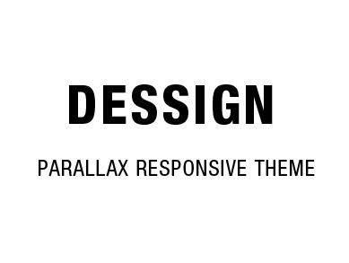 Parallax Responsive Theme WordPress website template