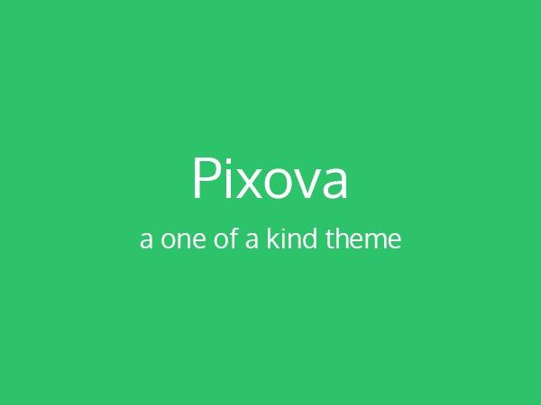 Pixova company WordPress theme
