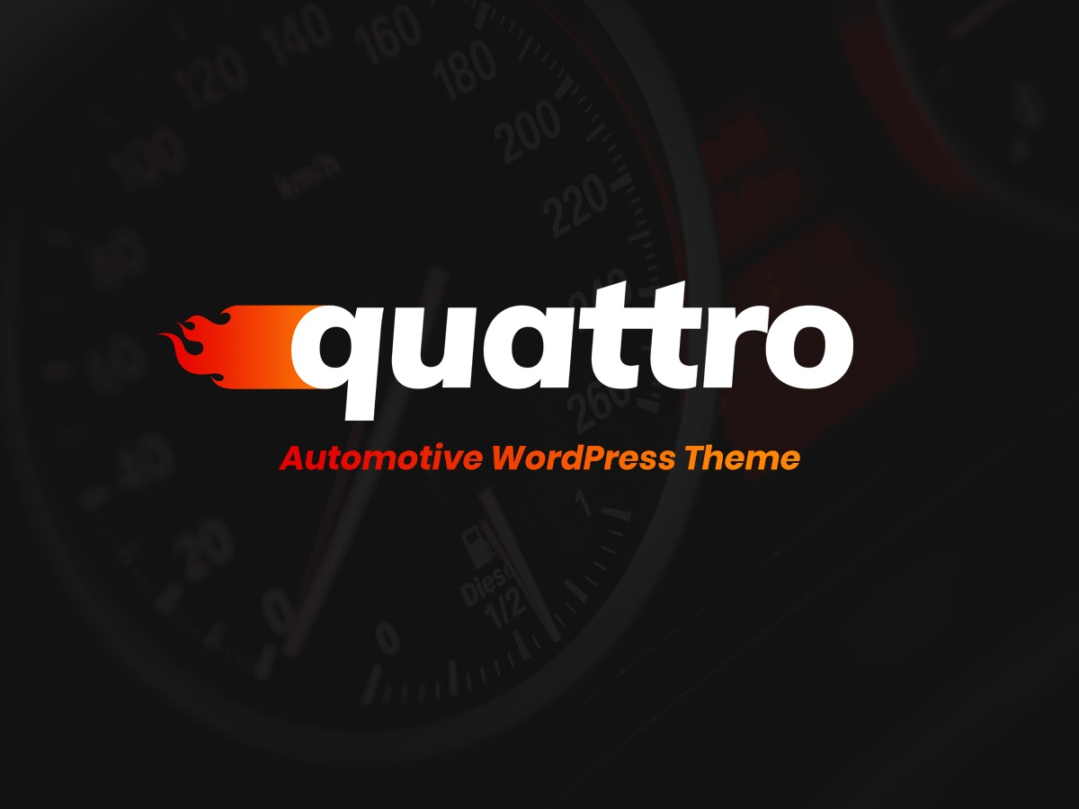Quattro WordPress ecommerce theme
