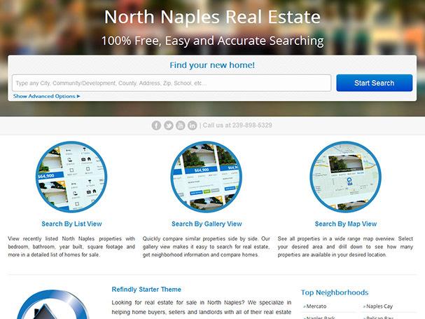 REfindly Starter Theme real estate template WordPress