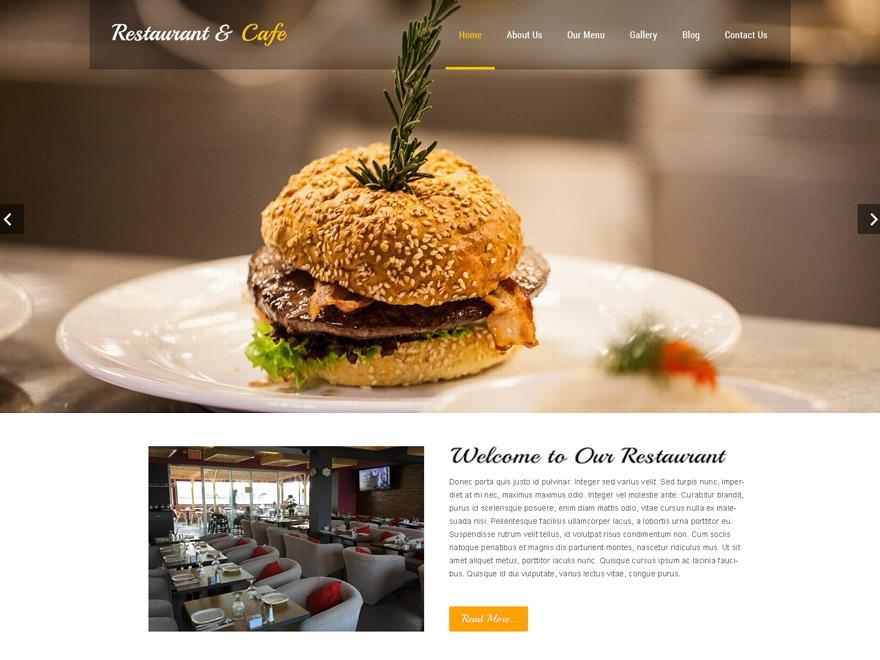 SKT Restaurant Pro WordPress ecommerce theme