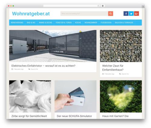 SociallyViral by MyThemeShop WordPress blog theme - wohnratgeber.at
