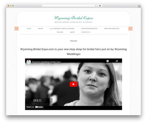 Free WordPress AlphaOmega Captcha & Anti-Spam Filter plugin - wyomingbridalexpo.com