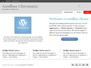 Template WordPress Amdhas