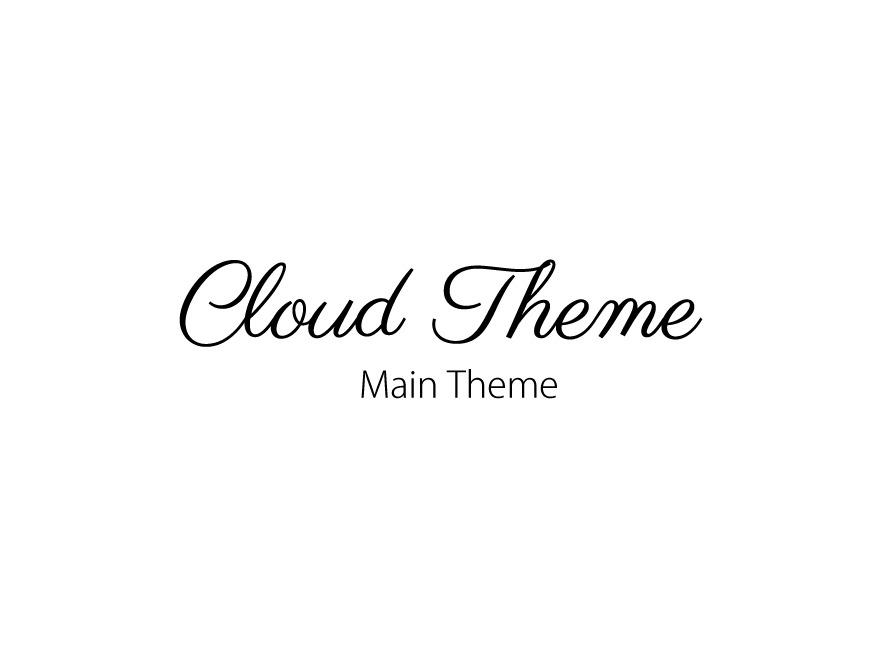 Template WordPress Cloud