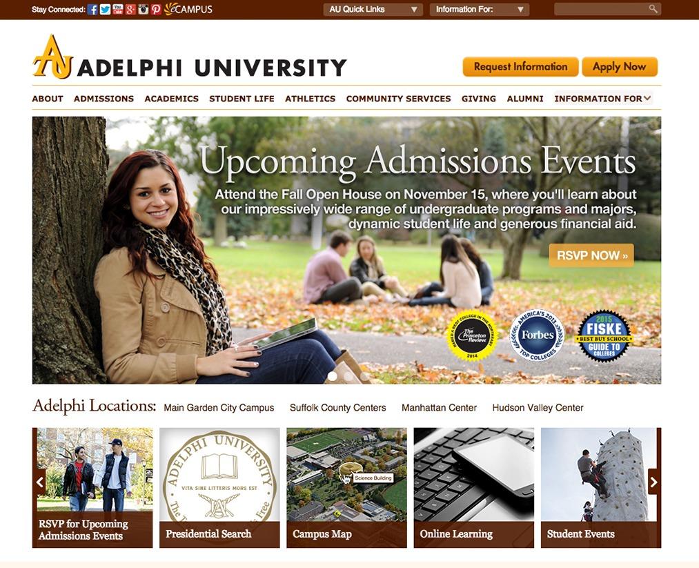 Theme WordPress Adelpi.edu
