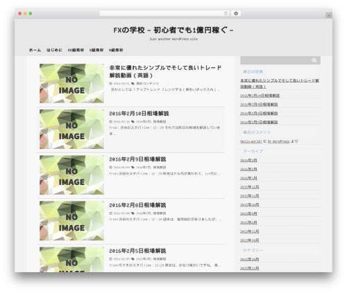 Theme WordPress giraffe - fxcluber.com