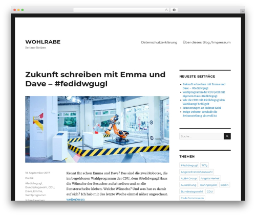 Free WordPress Comments Evolved for WordPress plugin - wohlrabe.eu