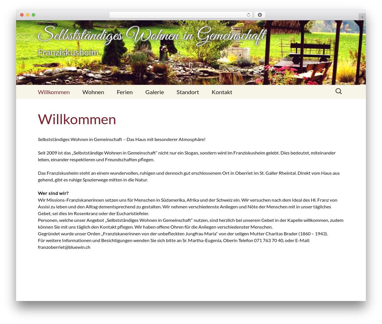 Twenty Thirteen free WordPress theme - wohnen-in-gemeinschaft.ch
