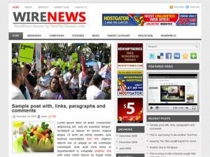 Wire News WordPress magazine theme