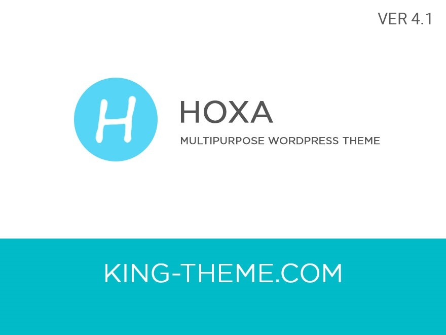 WordPress template Hoxa