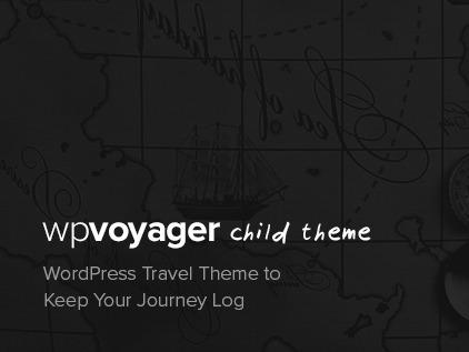 WPVoyager Child WordPress travel theme