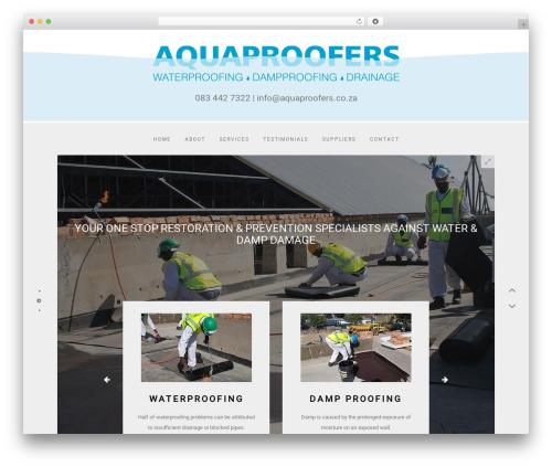 Amelie WP template - aquaproofers.co.za
