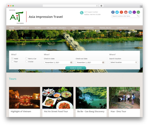 Free WordPress CKEditor for WordPress plugin - asiaimpressiontravel.com