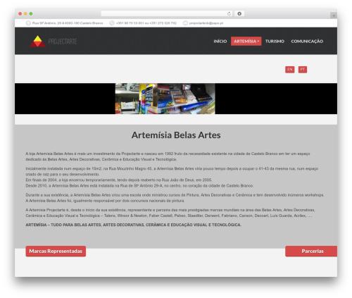 PressCore template WordPress - artemisia.projectarte.pt