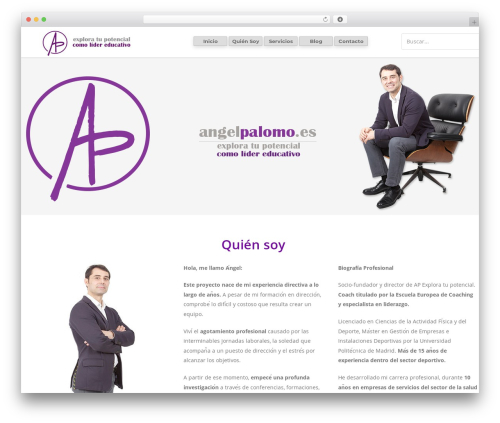 Unicon WordPress theme - angelpalomo.es
