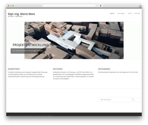 WP template Klasik - architekt-baumeister.at