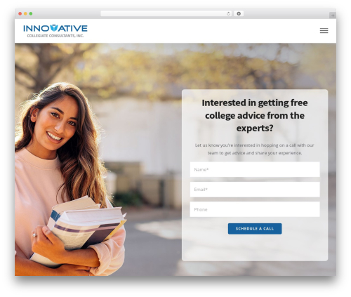 Avada best WordPress template - innovativecollegiateconsultants.com