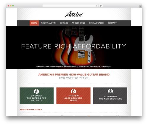 Best WordPress theme Austin - austingtr.com