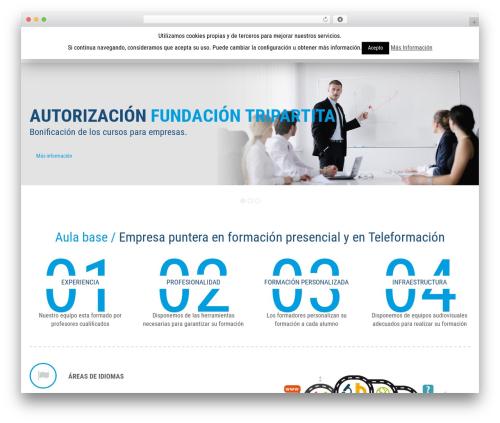 Bi-Shop WordPress ecommerce theme - aulabase.es