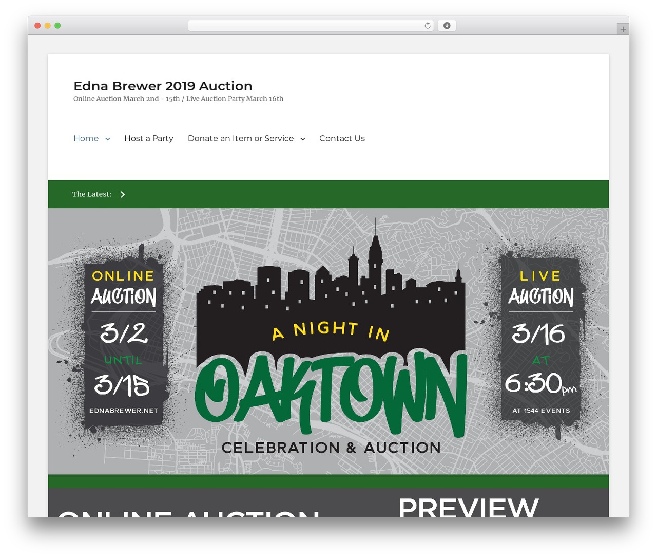 Clean Education Pro best WordPress theme - auction.ednabrewer.net