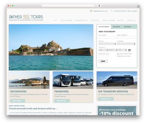 Free WordPress CSSIgniter Shortcodes plugin - antheatours.com