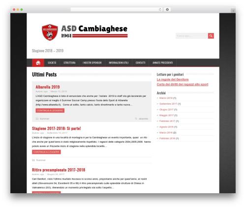 MineZine free WordPress theme - asdcambiaghese.com