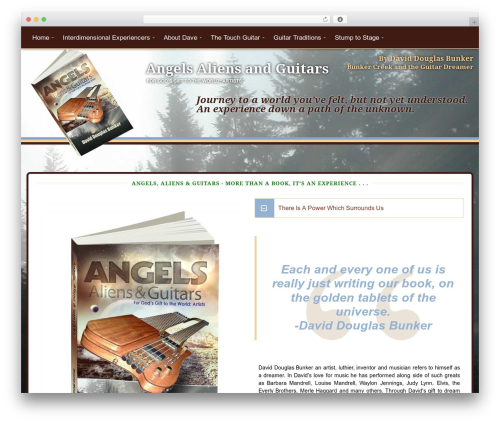 WordPress collision-testimonials plugin - angelsaliensandguitars.com