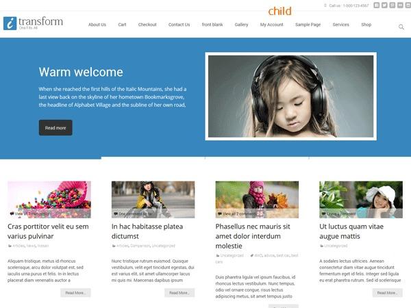 Template WordPress i-transform-child