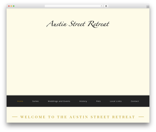 Theme WordPress cherry - austinstreetretreat.com