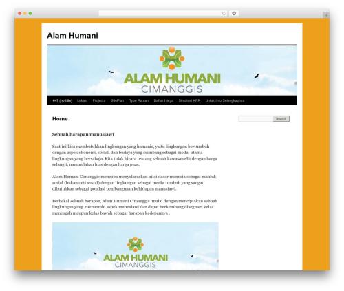 Twenty Ten WordPress template free - alamhumani.humanikon.co.id