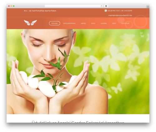 WordPress website template SpaLab - angels-garden.hu