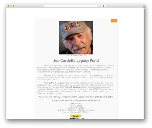 Free WordPress Companion Sitemap Generator plugin - art-life.com