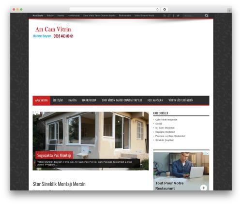 Jarida theme WordPress - aricammersin.com