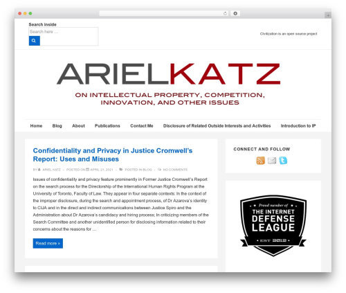 Responsive WordPress template free download - arielkatz.org
