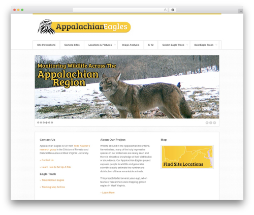Swagger WP template - appalachianeagles.org