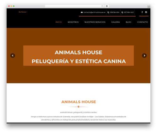 Template WordPress Dreamland - animalshouse.es
