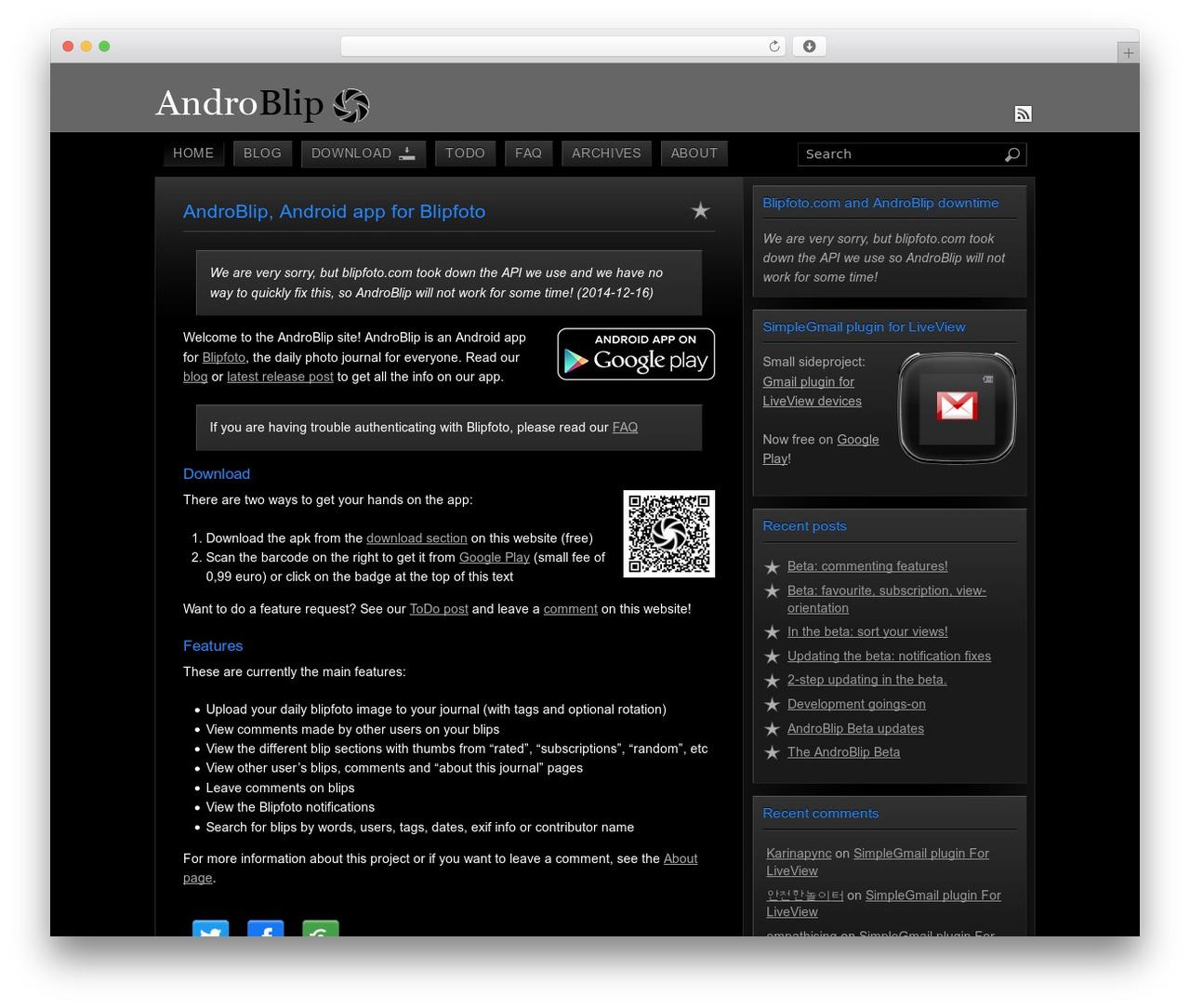 Apk Website Theme