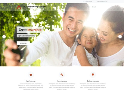 WP theme ARC Underwriters Child Theme