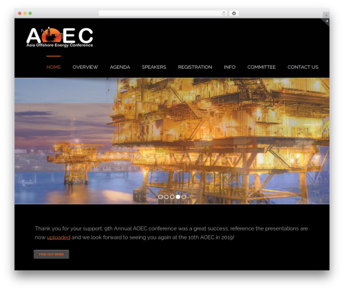 Avada best WordPress theme - asiaoec.com