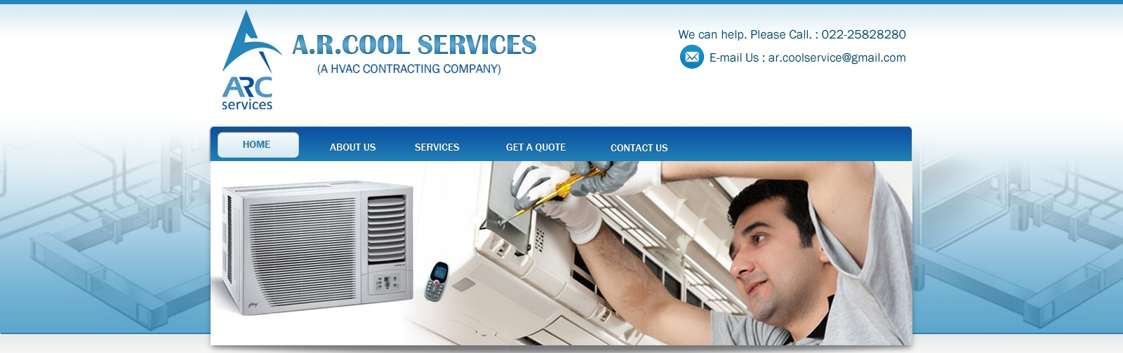 Best WordPress template arcool_services
