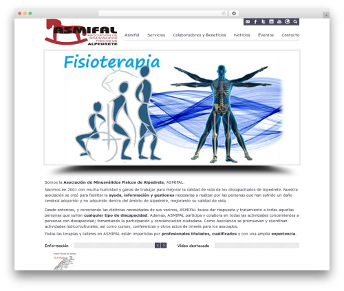 Cosmox top WordPress theme - asmifal.org