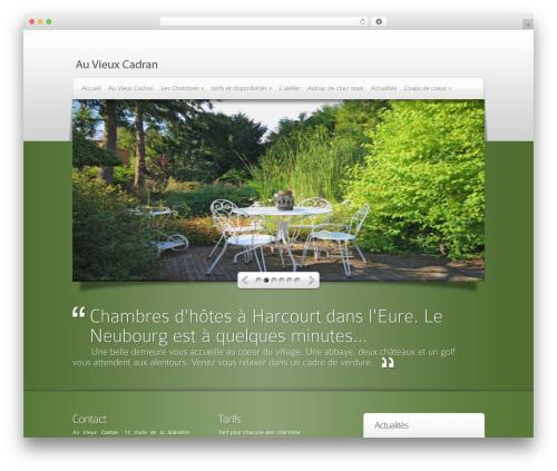 DeepFocus WordPress theme - auvieuxcadran.fr