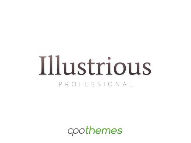 Illustrious Pro WordPress portfolio theme