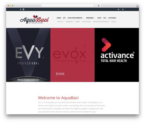 The Retailer template WordPress - aquabaci.com.au