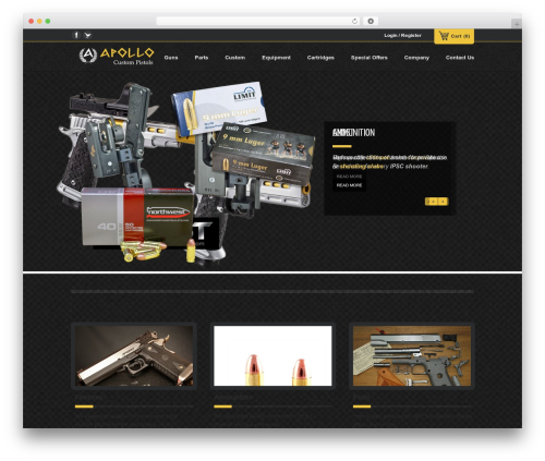 WordPress theme Emporium - apollopistols.com