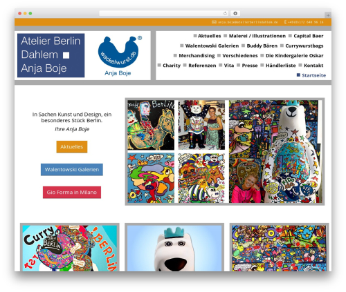 WordPress theme The7 - atelierberlindahlem.de