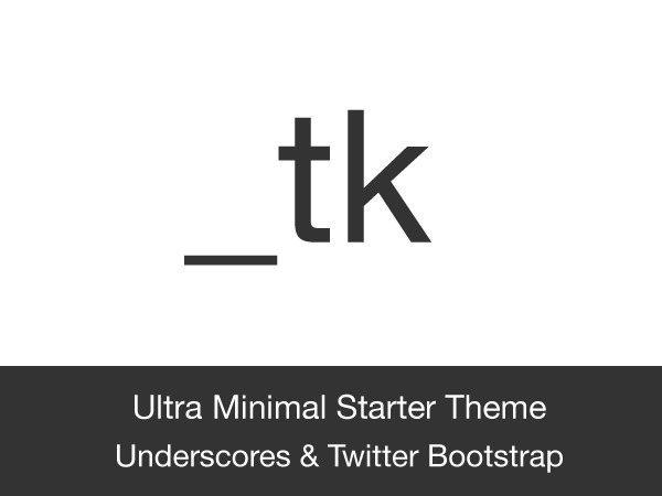 WordPress website template _tk