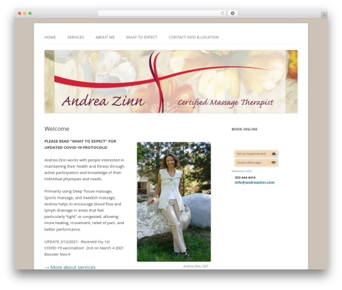 childtwentytwelve WordPress theme - andreazinn.com