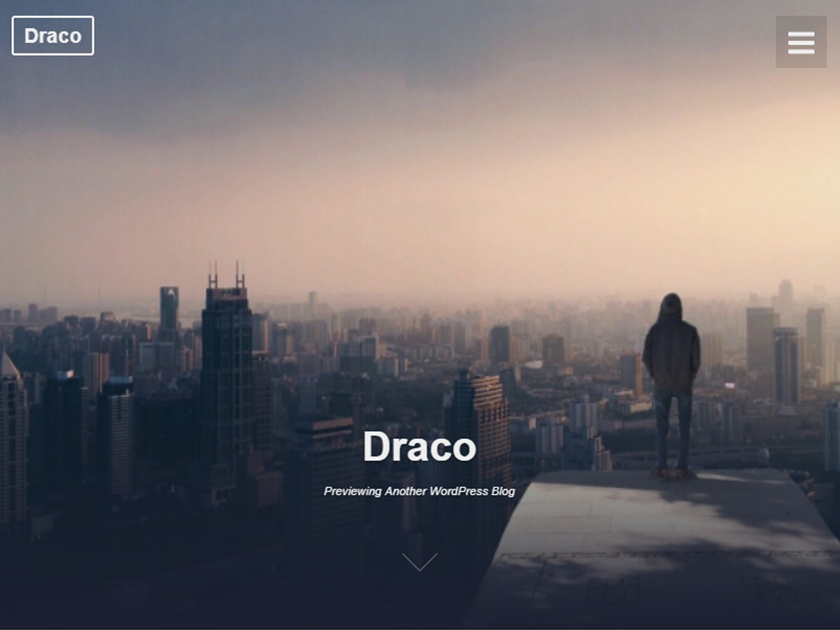 Draco premium WordPress theme